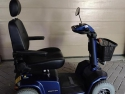 Scootmobiel Elegance Plus 4 wiel in d. blauw metallic (2016)