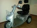 Scootmobiel Afikim Breeze 3, met grote wielen