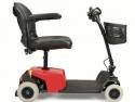 Scootmobiel Capri Pro 4 wielen, opvouwbaar, 8 weken gebruikt